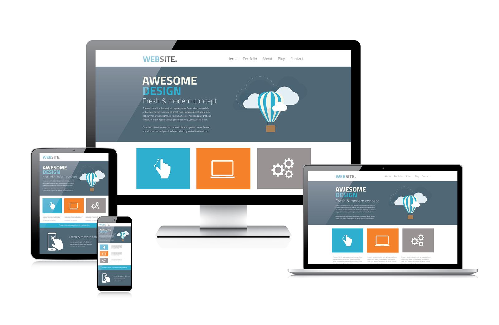bigstock-Modern-flat-responsive-web-des-67523425